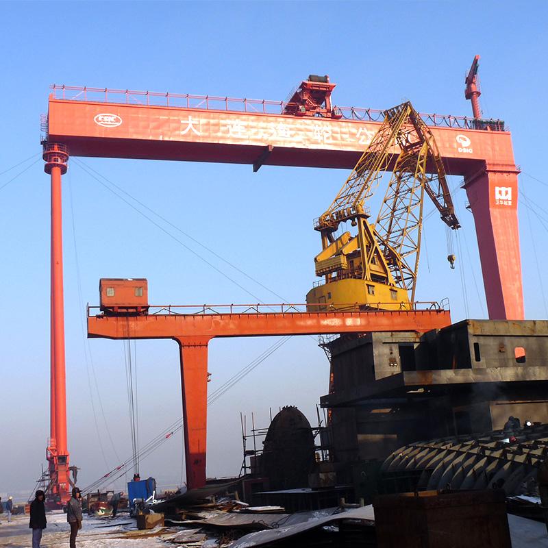 การต่อเรือเครนคานคู่