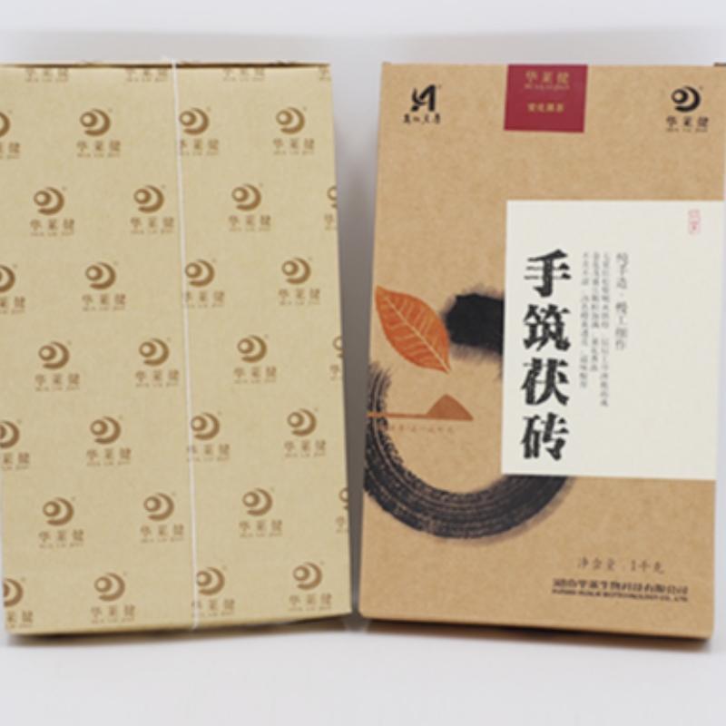 หูหนาน Anhua ชาดำการดูแลสุขภาพการผลิตชาด้วยมือ