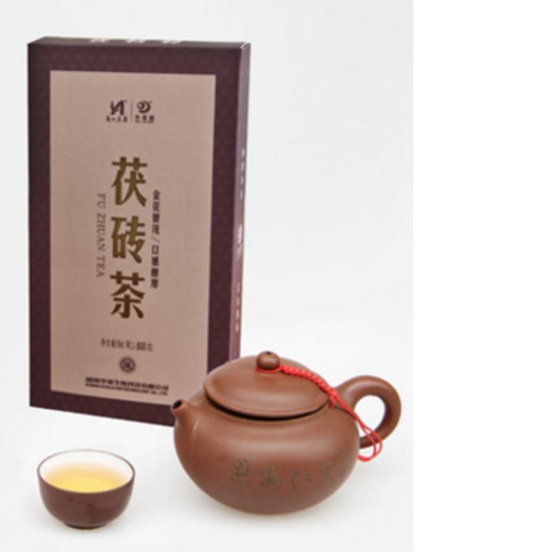 fuzhuan มณฑลหูหนาน anhua ชาดำชาการดูแลสุขภาพ