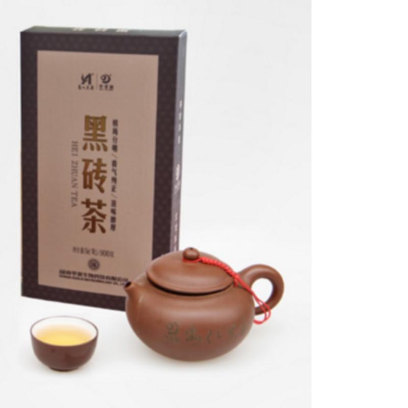 900 กรัมชา fuzhuan มณฑลหูหนาน anhua ชาดำชาการดูแลสุขภาพ