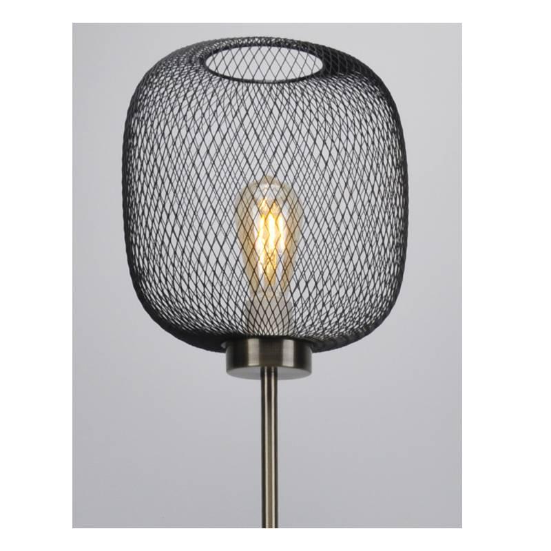 โคมไฟตั้งพื้นทันสมัยพร้อมตาข่ายสี
