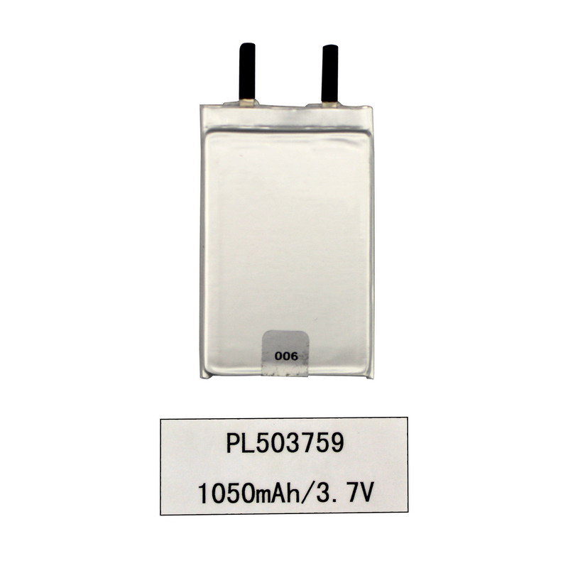 3.7V ลิเธียมไอออน Lipo โพลิเมอร์ 1050mAh แบตเตอรี่ผลิตภัณฑ์ดิจิตอล