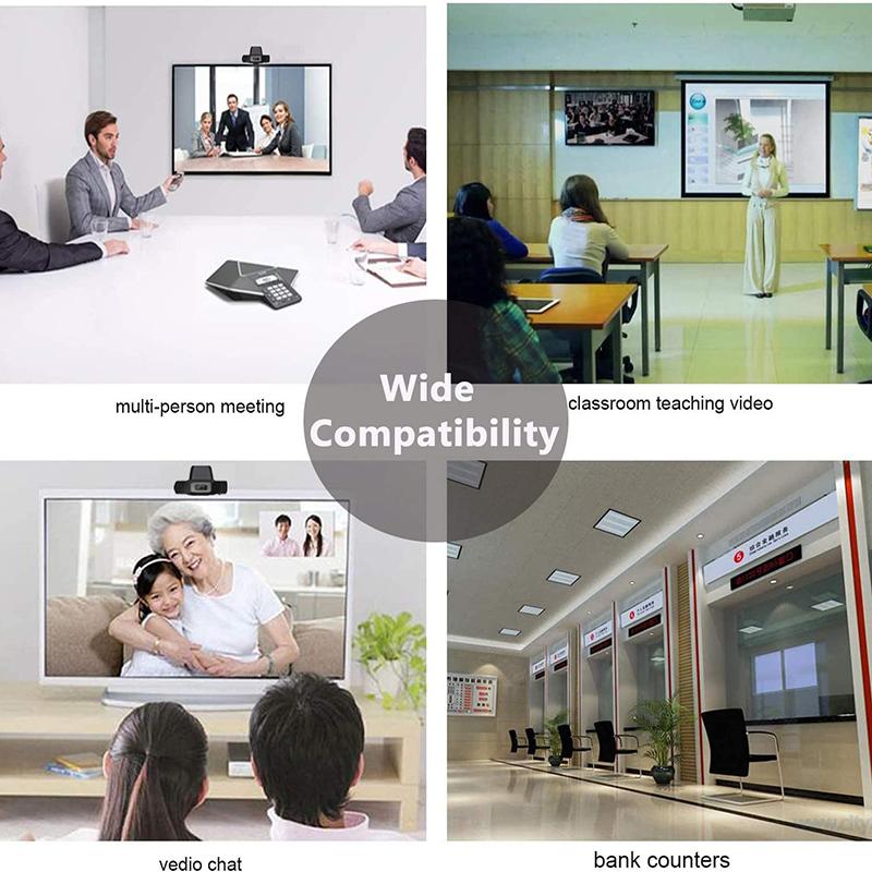 เครือข่ายคอมพิวเตอร์เว็บแคมคอมพิวเตอร์เดสก์ทอปหมุน USB 2.0 กล้องกับไมโครโฟนดิจิตอล